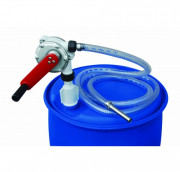 Pompe rotative manuelle AdBlue - Débit : 0,38 l/tour - Pour fût 60, 200 ou 220 L