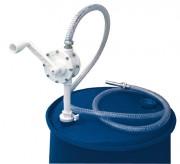 Pompe rotative manuelle pour fût - Débit : 15 l/mn.