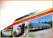 Pompe solaire pour piscine - Pour piscine résidentielles, commerciales et spa