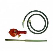 Pompe vide fût rotative - Débit 0,38 L par tour de manivelle - Norme Atex