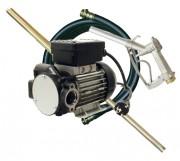 Pompe vide-fûts électrique fuel - Débit : 70 l/mn.