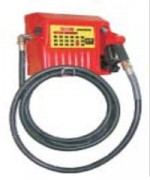 Pompes transfert fuel - Débit 80 L/mn - flexible 5m - diamètre raccord 25mm