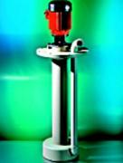 Pompes verticales centrifuges - Transfert et agitation de fluides agressifs et abrasifs