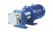 Pompes volumètriques à engrenages série GM - Inox et entraînement magnétique