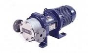 Pompes volumètriques à engrenages série GM-V - Entraînement magnétique PVC