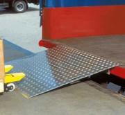 Pont de chargement aluminium 600 ou 1200 kg - Capacité de charge : 600 ou 1200 kg