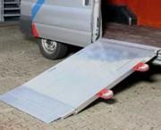 Pont de chargement en aluminium 4500 Kgs - Charge utile (Kg) : 4500