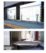 Pont de chargement en profilé d'aluminium - Charge utile (Kg) : 5000