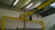 Pont monopoutre à palan électrique - Charge (kg) : 20 000