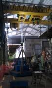 Pont roulant industriel spécifique - Capacité : Charges lourdes - Sur mesure