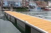Pontons bois aluminium - Capacité : entre 150 et 250 kg/m²