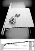 Ponts de chargement - Passerelle en aluminium à déplacement latéral type KB