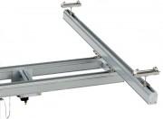Ponts roulants bipoutre - Capacité : jusqu'à 2000 kg -  Suspendu ou encastré