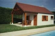 Pool house béton