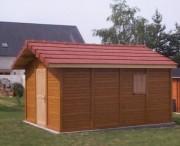Pool house béton aspect Bois - La gamme PALMIA Béton aspect Bois