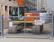 Portail de chantier autoportant 4m de passage  - portail chantier