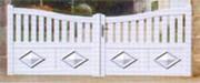 Portail en aluminium 3500 x 2000 - Portail Diamant