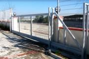 Portail industriel coulissant - Portail motorisé