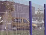 Clôture industrielle en acier - Fabrication en matériaux de haute qualité