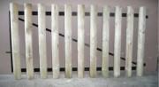 Portail planchettes en bois - 2 ventaux : 1m10  de hauteur