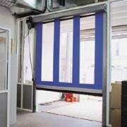 Porte à enroulement rapide intérieur - Conforme norme CE EN13241-1.
