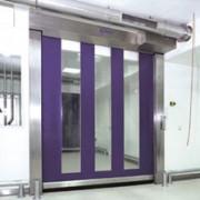 Porte à enroulement rapide pour milieu agressif - Largeur :1000 à 3500 mm - Hauteur : 1000 à 3500 mm - Surface : 1 à 12.25 m²