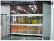 Porte à enroulement translucide - Portes automatiques, conformes à EN13241