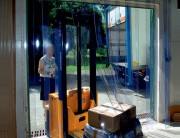 Porte à lanieres pvc cristal - Pour fermer un passage ou cloisonner un atelier