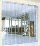 Porte à lanières souple pvc - Isolation thermique et acoustique des locaux