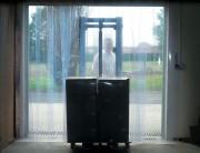 Porte à lanières souples mat - Épaisseur : 2 mm - Largeur : 300 mm