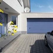 Porte à rainures pour garage