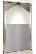 Porte à vantaux pvc souple - Porte à 1 ou 2 battants ou vantaux