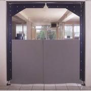 Porte à vantaux souple - Porte double action efficace pour l'isolation