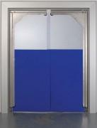 Porte à vantaux souple en pvc - Porte à 1 ou 2 battants ou vantaux