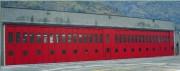 Porte accordéon industrielle - Motorisée ou manuelle