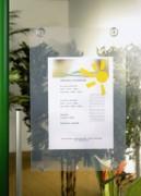 Porte-affiche à ventouses - Dimensions cadre : 72,5 x 58cm