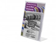 Porte affiche brochure A5 - Format : A5