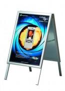 Porte affiche en aluminium - Dimensions (mm) : 700 x 1000