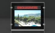 Porte-affiche Led dynamique recto-verso - Epaisseur : Ultra slim 5 mm