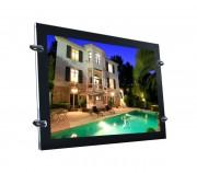 Porte affiche LED format A4