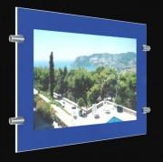 Porte-affiche lumineux pour commerce - Ultra haute luminosité 6500 lumens - 100 000 heures d'utilisation