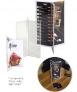 Porte affiche multi-faces de comptoir - Tailles images : A4 - A5