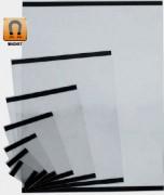 Porte affiche PVC métalique - Formats: A1 A2 A3 A4 A5 A6 A7