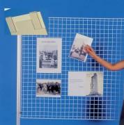 Porte affiches pour grille d'exposition - PVC cristal 1,5 mm