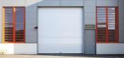 Porte automatique à enroulement - Vitesse d'ouverture/fermeture : 2.0/0.7 m/s