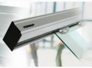 Porte automatique coulissante pour lieux publics - Opérateur compact : 10 cm - Manœuvre vantaux jusqu'à 2 x 120 kg