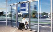 Porte automatique pour lieux publics - Plusieurs types de portes automatiques – Conforme aux normes européennes