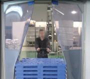 Porte battante souple renforcée - Epaisseur PVC en base : 5 ou 7mm