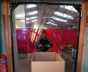 Porte battante standard souple - Panneaux en pvc renforcés
