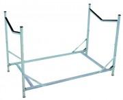 Porte-brancard - Dimensions (L x l x H) cm : 121 x 67 x 80.5